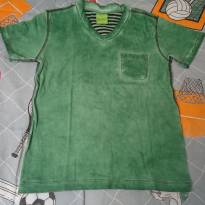 Camisa Boys Colections verde - 4 anos - Boys Collections