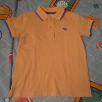 Camisa polo Charpey laranja - 6 anos - Tulye e Charpey