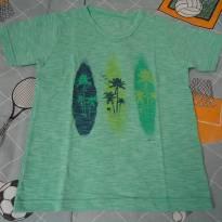 Camisa Marisol verde - 6 anos - Marisol