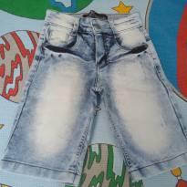 Bermuda Linudix jeans claro - 8 anos - Não informada