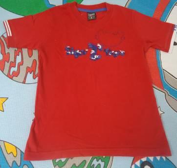 Camisa Tigor vermelha - 6 anos - Tigor T.  Tigre