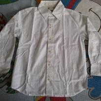 Camisa manga comprida branca P. I. Kids - 4 anos - P. I. Kids