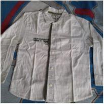 Camisa social manga comprida Tigor - 6 anos - Tigor T.  Tigre
