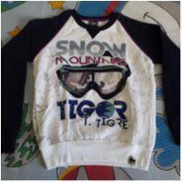 Moletom Tigor - 8 anos - Tigor T.  Tigre
