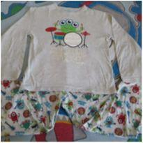 Pijama monstrinhos Kyly - 8 anos - Kyly