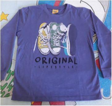Camisa manga comprida Rolú - 8 anos - Rolú