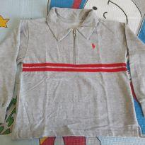 Camisa polo moletom HPC - 8 anos - Polo HPC