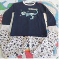 Pijama dinossauro Fashion Basics - 8 anos - Fashion Basics