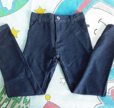 Calça moletom estilo jeans Tigor - 8 anos - Tigor T.  Tigre