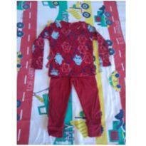 Pijama importado Pinguins - 1 ano - Toughskins - USA