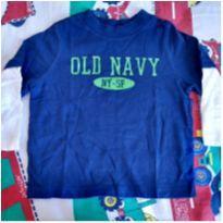 Camisa manga comprida Old Navy - 12 a 18 meses - Old Navy