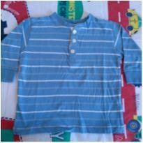 Camisa manga comprida Next - 9 a 12 meses - Next