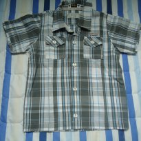 Camisa xadrez Tigor - 2 anos - Tigor T.  Tigre