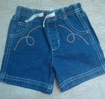 Bermuda jeans Gymboree - 12 a 18 meses - Gymboree