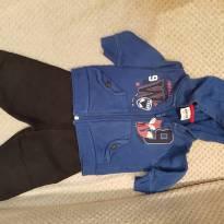 conjunto de moletom infantil - 9 meses - Fakini