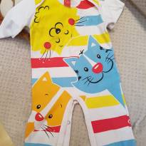 Macacão Get Baby - Tam M - 6 a 9 meses - Get Baby