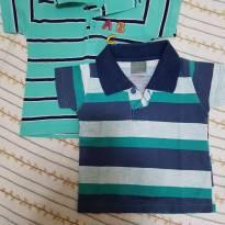 Lotinho camiseta Polo infantil - 6 a 9 meses - Malwee