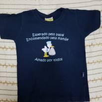 Camiseta infantil - 3 a 6 meses - Jaca lele