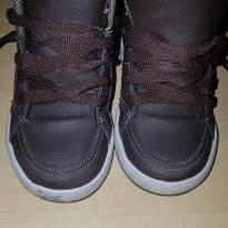 Sapato marron Tam 22 - 22 - Não informada