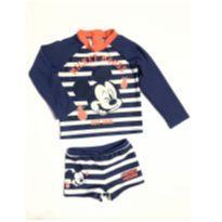Sunga com blusa de proteção solar - 24 a 36 meses - Disney