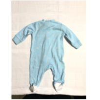 Macacão azul - 3 meses - Carter`s
