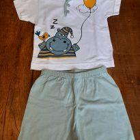 Pijama bebê menino - 6 a 9 meses - Kyly