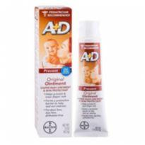 Pomada Para Assadura A+d Oxido De Zinco Ação Preventiva Para Bebê - 113g - Sem faixa etaria - A+D e Bayer