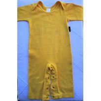 Macacão amarelo BB Moderno - 9 a 12 meses - BB Moderno