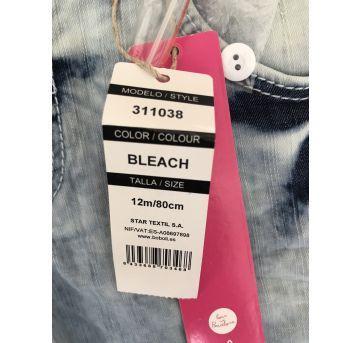 Shorts Jeans - 1 ano - Não informada
