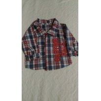 Camisa Baby linda - 0 a 3 meses - Babysol