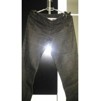 Calça jeans Gestante - P - 38 - Pandinha Moda Gestante