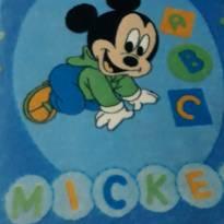 Cobertor Baby tema Mickey -  - Não informada