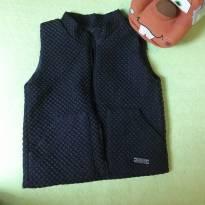 Colete estiloso forradinho preto - 18 meses - Infantilândia