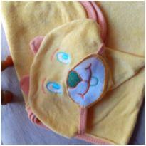 Toalha ursinho molhado amarelo -  - Bicho Molhado