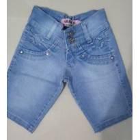 bermuda jeans - 10 anos - Não informada