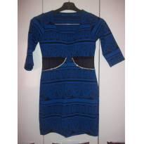 vestido azul - 14 anos - Não informada