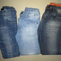 lote de calças8 - 8 anos - Várias