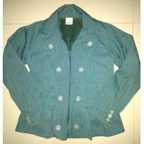 casaco verde - 12 anos - Ser Garota