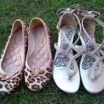 sapatilha e sandalia - 33 - Várias