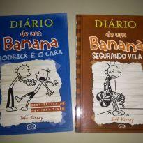 livros diario de um banana - Sem faixa etaria - Vergara & Ribas