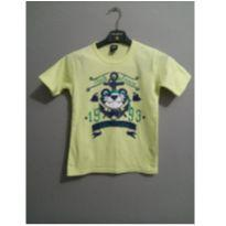 camiseta tigor amarela - 10 anos - Tigor T.  Tigre