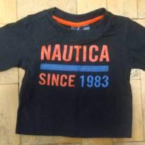 Camisa de Malha Nautica - 3 a 6 meses - Nautica