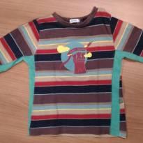 Camisa Malha - 9 a 12 meses - Green