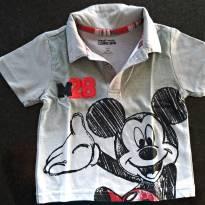 Camisa Mickey - 1 ano - Disney