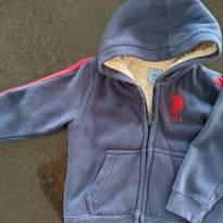 Jaqueta Peluda - 18 a 24 meses - US Polo Assn