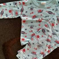 Pijama em malha - 2 anos - Nacional