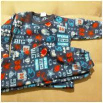 Pijama soft quentinho - 3 anos - Nacional