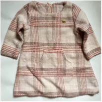 Vestido Rosa Quadriculado - 2 anos - Lilica Ripilica