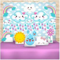 Kit decoração Chuva de amor -  - Sem marca