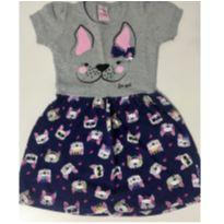 5013 - Vestido Cachorro - 3 anos - For Girl